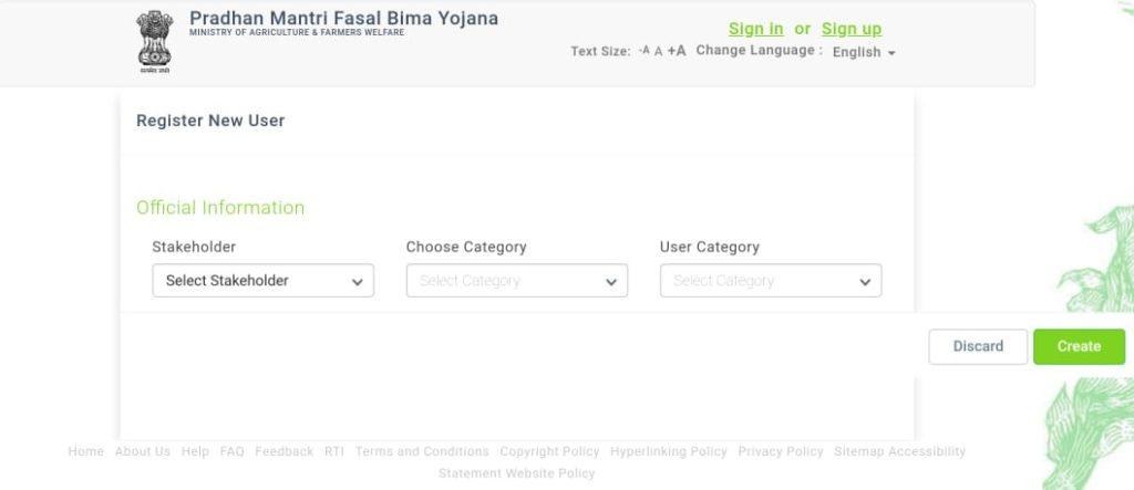 Apply Pradhan Mantra Fasal Bima Yojana