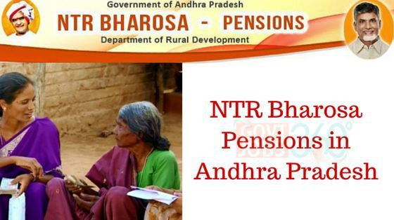 NTR Bharosa Pensions- AP Old Age, Disability,Widow & Other Pension Scheme