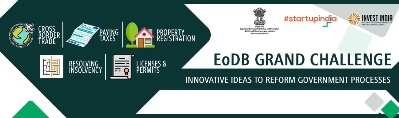 EoDB Grand Challenge- Ease of Doing Business Grand Challenge Registration
