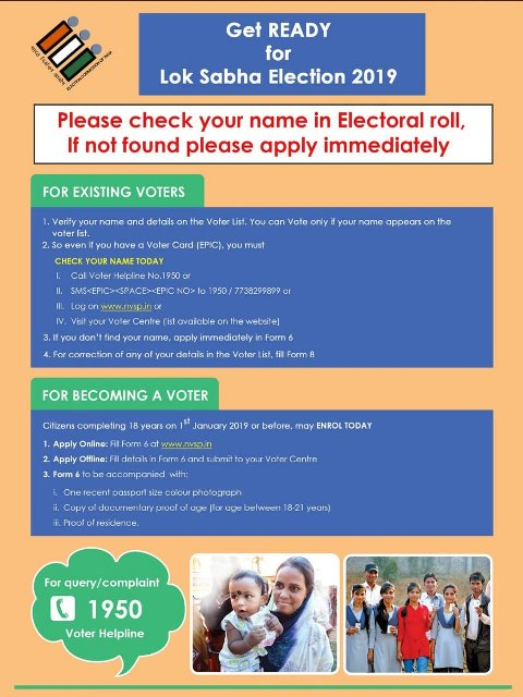 Apply Online Voter ID Card