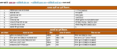 [Download] UP Ration Card List - उत्तर प्रदेश राशन कार्ड सूची 2019   Name Wise List