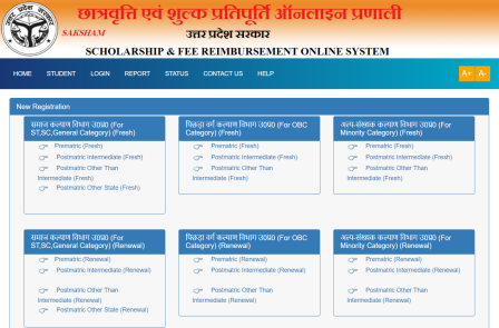 UP Scholarship 2019 Online From