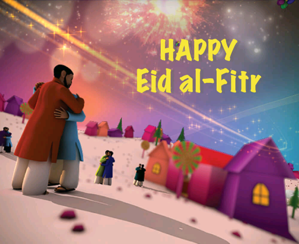 Happy Eid Ul Fitr wish