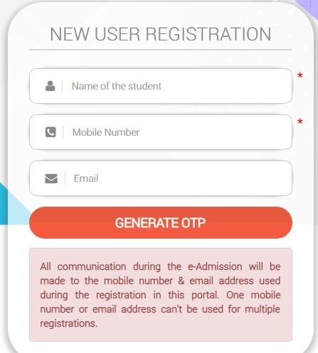 SAMS Plus 2 Online Admission 2019-20 Registration