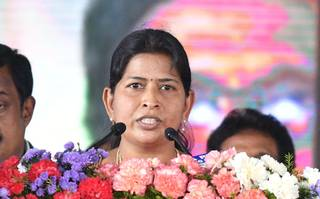 Taneti Vanitha has appointed as the  Minister of Women and Child Welfare Minister.