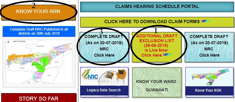 Assam NRC Additional Draft Exclusion List