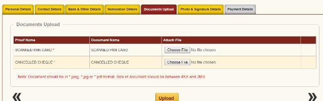 Fill NPS Tier 1 Registration Form