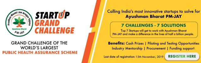 Ayushman PMJAY Startup Grand Challenge 2020  \