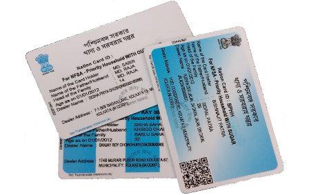 Digital Ration Card List