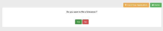 Odisha Online Grievance Application Form