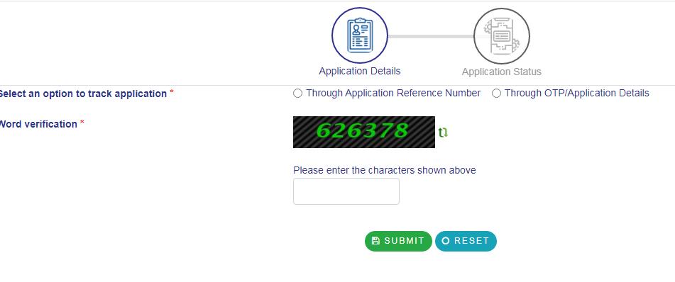 Track Seva Sindhu Application Status