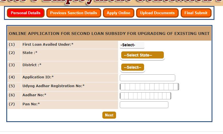 PMEGP Loan Scheme