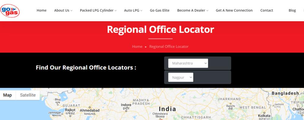 Locate Regional Offices