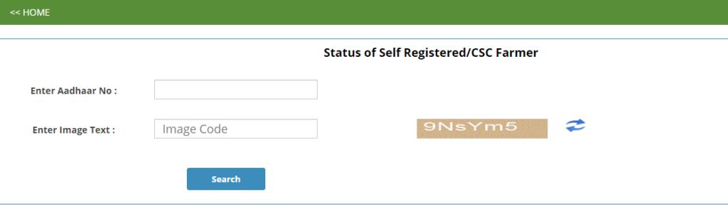 Self Registered Farmer