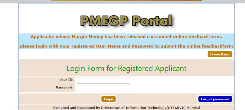 Registered Applicant Login