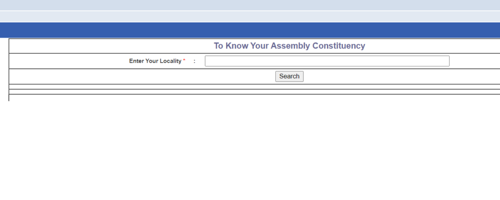 Know Your Assembly Constituency