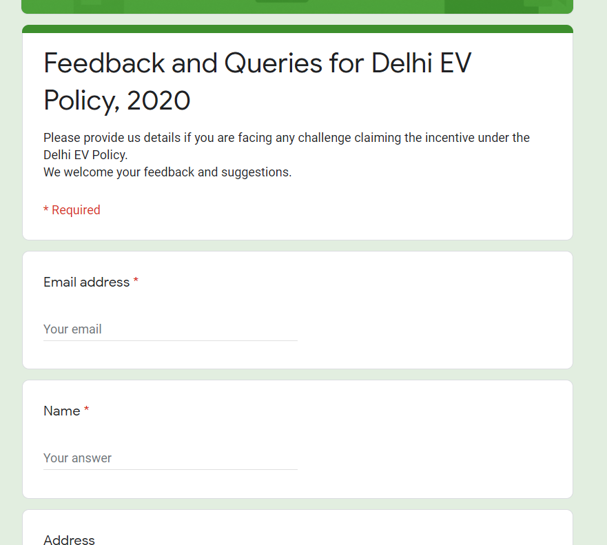Feedback and Queries
